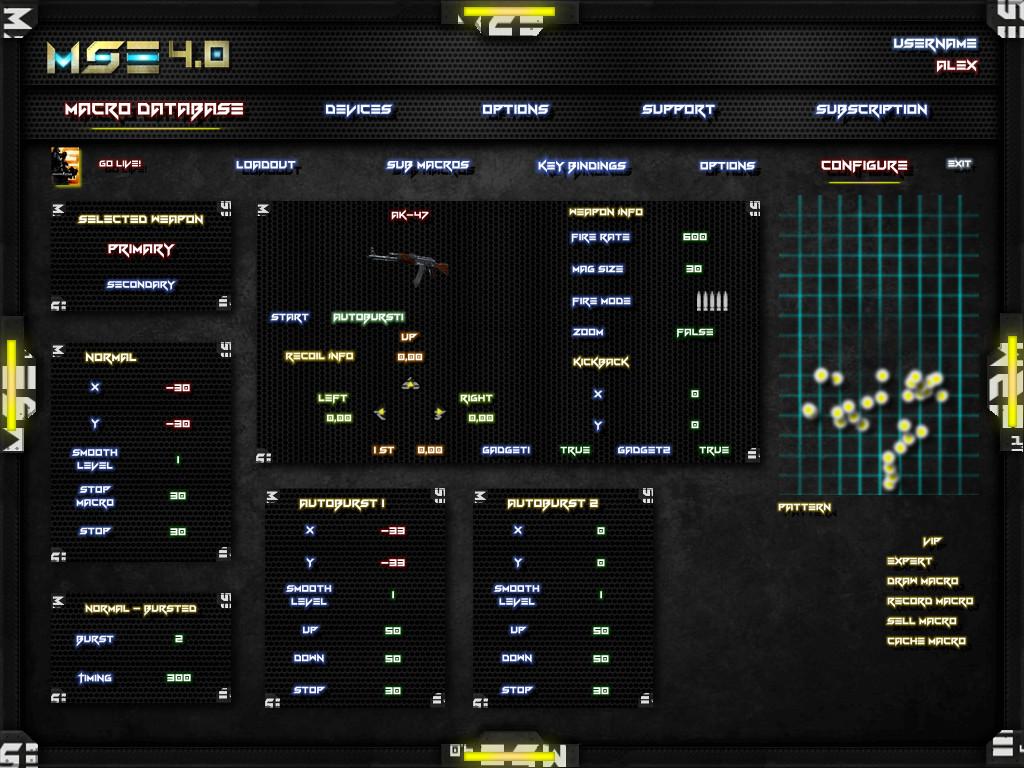 Macro PUBG CSGO BFV Fortnite BF1 BF3 BF4 SKILL AAPG ARMA3